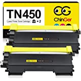 CG CHINGER TN450 Compatible Toner Cartridge Replacement for Brother TN450 TN420 TN-450 Used with HL-2270DW HL-2280DW HL-2230