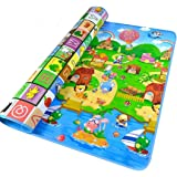 StillCool Baby Play Mat,79x71inches Extra Large Baby Crawling Play Mat Floor Play Mat Game Mat,0.2-Inch (Large)
