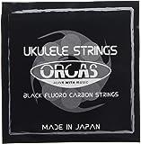 【ORCAS】 ウクレレ弦 セット OS-HARD (ハードゲージ ソプラノ  コンサート用)