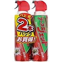【防除用医薬部外品】アースジェット 殺虫スプレー [ハエ・蚊用 450mLx2本]