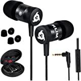 KLIM Fusion - in Ear Headphones with Mic + Excellent Audio Quality + Long-Lasting Ear Buds + 5 Years Warranty + Wired Headpho