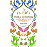 Pukka Herbs Herbal Collection Mixed Tea Bags, 20 Pieces (P5042)