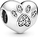 Pandora 791713cz I Love My Pet Charm