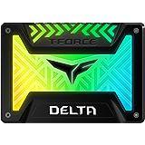 Team RGB(発光型) SSD DELTAシリーズ 500GB SATA3接続 2.5インチ 9.5mm厚 5V R…