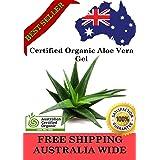 Aloe Vera Gel (Liquid) - 100% PURE Australian Certified Organic - DIY Skincare (100 ml)