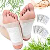 Kapmore Foot Pads, 100 Relief Foot Pads And 100 Adhesive Sheets For Removing Impurities, Relieve Stress Improve Sleep