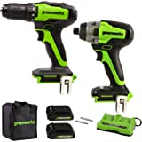 Greenworks CK24L220 Powertools Power Tools, Green