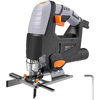 タックライフ ジグソー PJS03A 木材/プラスチック/軟鉄板切断 黒+灰 奥行25.8×高さ20.2×幅7.9cm 5個入6個セット