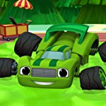 Blaze and the Monster Machines iPad壁紙 Race to Eagle Rock