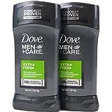 Dove Men+Care ダヴ メンズ 固形デオドラント スティック エクストラ フレッシュ 76g×2個[並行輸入品]