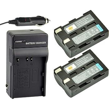 DSTE® アクセサリーキット Konica Minolta NP-400 D-LI50 互換 カメラ バッテリー 2個+充電器キット 対応機種 A-5 A-7 Digital Dimage A1 A2 Dynax 5D 7D Maxxum 5d 7d