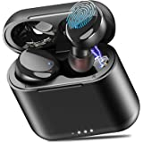 TOZO T6 True Wireless Earbuds Bluetooth Headphones Touch Control with Wireless Charging Case IPX8 Waterproof TWS Stereo Earph