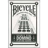 自転車ダブル 9 ドミノ トランプ Bicycle Double Nine Domino Playing Cards