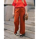 The Drop Women's Cinnamon Side-Slit Pull-On Pants by @graceatwood