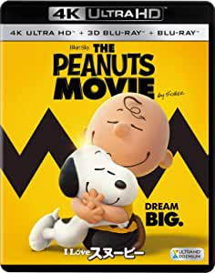 I LOVE スヌーピー THE PEANUTS MOVIE (3枚組)[4K ULTRA HD + 3D + 2Dブルーレイ] [Blu-ray]