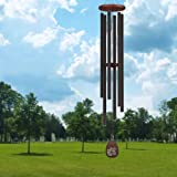 """Noble House Wind Chimes with Big Deep Tone, 58"""" Tuned Wind Chime,Large Church Wind Chimes with Deep Tone, Outdoor for Garden,"""