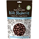 Dr Superfoods Blueberry Bliss Coated Blueberries Dark Chocolate, 1 Count
