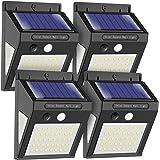 Solar Wall Light Outdoor, MODAR 50 LED Motion Sensor Lights with 120° Wide-Angle Detection 270° Lighting Angle, Waterproof Wi