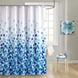 Neween Shower Curtain for Bathroom with 12 Hooks, Weighted Hem, Polyester Fabric Waterproof Machine Washable Shower Curtains