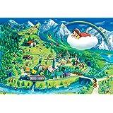 1000ピースジグソーパズル アルプスの少女ハイジ 名場面マップ(49×72cm)