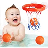 Bathing Toy Bathtub Basketball Hoop, Suitable for Preschool Children, The Suction Cup is Easy to Install, There are Fun Game