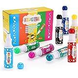 HOMKARE Dot Markers 12 Colors Washable Bingo Daubers for Kids Toddlers Preschool Children (12 Colors)