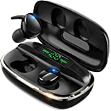 【最新Bluetooth5.1技術 瞬時接続】 Bluetooth イヤホン Hi-Fi高音質 蓋を開けたら接続 自動ペ…