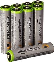 亚马逊基本款高容量充电式镍氢电池4号