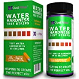 Total Water Hardness Test Strips. Each Strip Best and Reliable for Home Testing Pool, Spa, Aquarium, Drinking Water, Well. Ea
