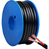 Twin Cable 30M Twin Core Wire 3mm Electric Cable with 2 Sheath Protection and SAA-Certified for Wiring 12V