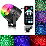 Disco Ball Strobe Light Party Lights Disco Lights Karaoke Machine 3W Dj Light LED Portable 7Colors Sound Activated Stage Ligh