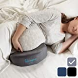 hiccapop Pregnancy Pillow Wedge for Maternity   Memory Foam Maternity Pillows Support Body, Belly, Back, Knees