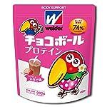 [Amazon限定ブランド]BODY SUPPORT W ウイダー チョコボールプロテイン チョコボールいちご味 900g (約45回分) ホエイプロテイン WPI