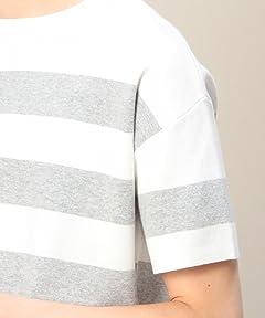 Milano Rib Crewneck T-Shirt 1217-180-8458: Grey