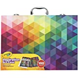 CRAYOLA 04 1999 Inspiration Art Case: 140 Pieces, Deluxe Set with Crayons, Pencils, Markers and Paper in a Portable Storage C