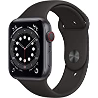 Newest Apple Watch Series 6 (GPS + Cellular Model) - 44mm Space Grey Aluminum Case and…