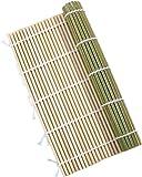 竹製 すし 巻きす 24x24cm 抗菌 寿司巻 太口 竹巻す グリーン 巻きすだれ 巻き寿司作りに グルメ キャンプ…