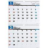高橋 2022年 カレンダー 壁掛け 2ヶ月 B4×2面 E75 ([カレンダー])