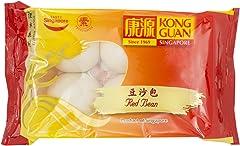 Kongguan Red Bean Bun, 60g - Chilled