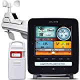 AcuRite 01022M Pro Weather Station with Lightning, Rain, Wind, Temperature, Humidity & Weather Ticker