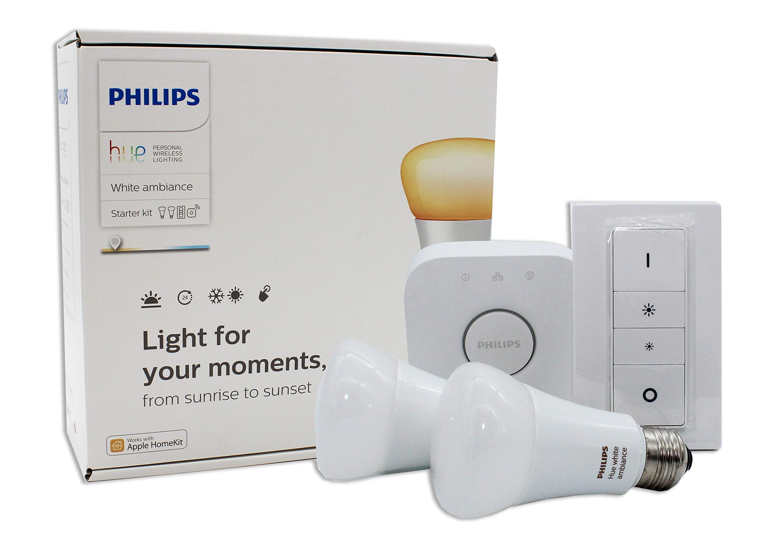 Philips Hue White Ambiance Smart Bulb Starter Kit - Edison Screw E27 (Compatible with Amazon Alexa, Apple HomeKit, and Google Assistant) 7