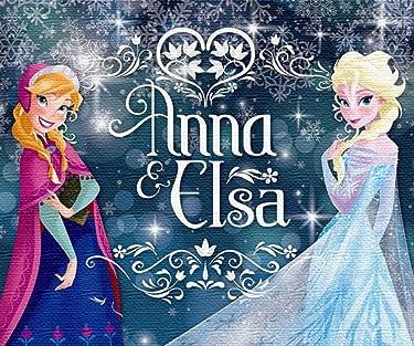 ディズニー  iPhone/Androidスマホ壁紙(960×800)-1 - アナ,エルサ
