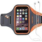Guzack アームバンド ジョギングアームバンド ランニングアームバンド ランニングスマホケース スポーツアームバンド iphoneアームバンド 携帯アームバンド ランニングスマホケース iPhone、Samsung、Android、xperia、