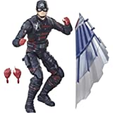 Hasbro Marvel Legends Series Avengers 6-inch Action Figure Toy U.S. Agent, Premium Design And 2 Accessories, For Kids Age 4 A