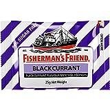 Fisherman's Friend Blackcurrant Sugar Free Menthol Lozenges, White, 25 g