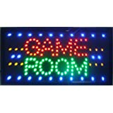 CHENXI Game Room Entertainment Led Business Store Neon Sign Display 19 X10 Inch(48 X 25 cm) Indoor Use (48 X 25 cm, Game Room