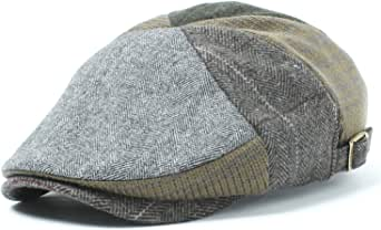 [ベーシックエンチ] Fabric Mix Hunting ハンチング【57-59cm 2色】秋冬 おしゃれ アウトドア UVカット 男女兼用 帽子