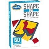 ThinkFun Shape by Shape Creative Pattern Game,Pack of 1,Multicolor,44005941