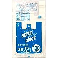 オルディ レジ袋 取っ手付き ポリ袋 乳白 半透明 2L 45×53cm マチ15cm 厚み0.02mm 西日本45号…