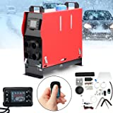 SUDOO 5KW 12V Air Diesel Heater All in One Portable Diesel Heater Parking Heater Fast Heating with Remote Control LCD Monitor